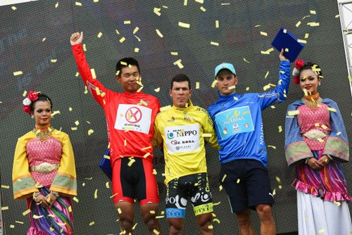 Tom Leezer Tour de Langkawi 2013