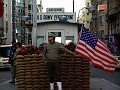 ..... we are going to visit Checkpoint Charlie, ooooh noooo, I know what's coming now .....
