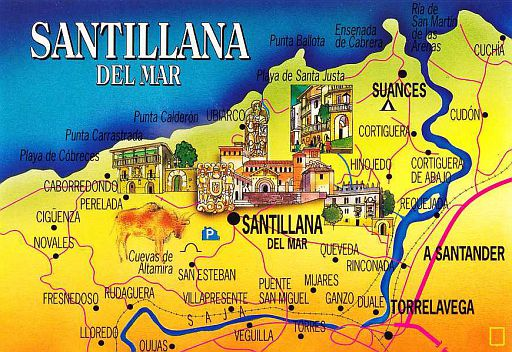 SANTILLANA DEL MAR - 00-Map
