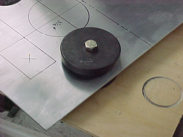 How many tons arbor press needed for dimple dies? - TriFive