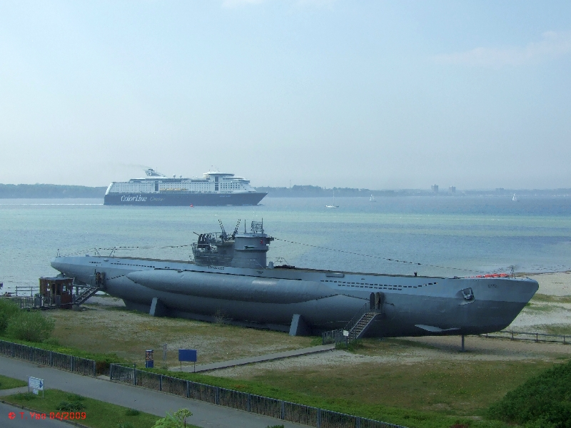 Heinbloed S Cruise Guides Laboe Germany Navy Memorial