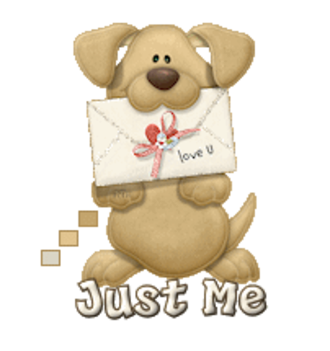 Just Me - PuppyLoveULetter