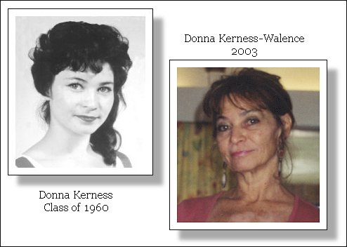 Donna Kerness Class of 1960