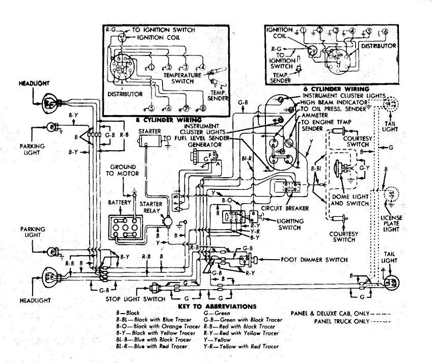 Photo     51   52wirediagram01   1951    Ford    f1 album   Vdubjim