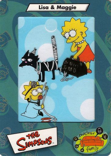 2000 Simpsons Film Cards #38 (1)