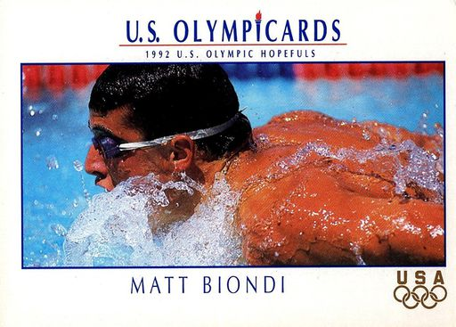 1992 US Olympicards Profile #HP04 (1)