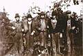 Hunting Party.The man in the middle is believed to be, Manuel Parton - New River, TN
