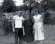 Kenneth, grandma Laura (WALKER) Austin, and Mary
