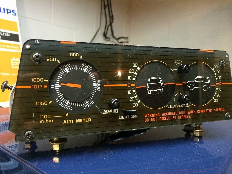 Campers For Sale In Ga >> For Sale - OEM Toyota Altimeter/Inclinometer | IH8MUD Forum
