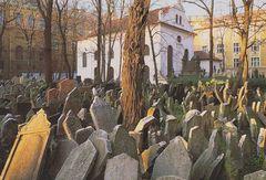 HLAVNI MESTO PRAHA - Old Jewish Cemetery