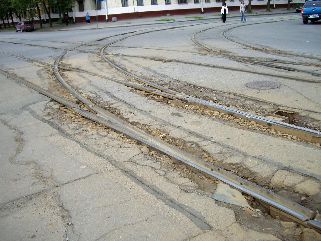 Straßenbahnschienen