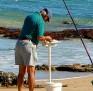 Beach fishing - fresh bait time 001