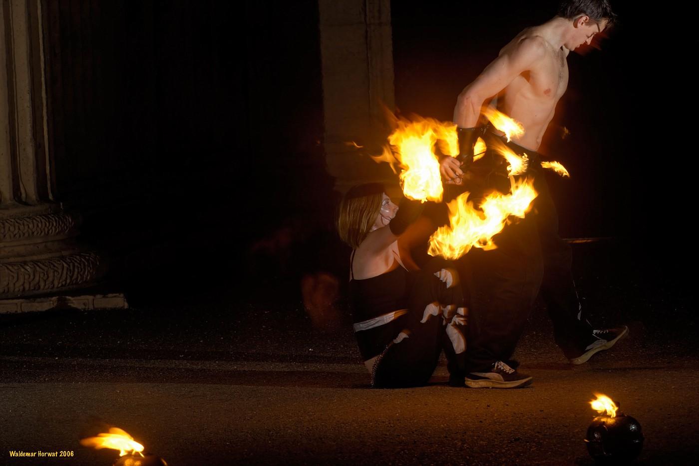 Sexy Fire Dance