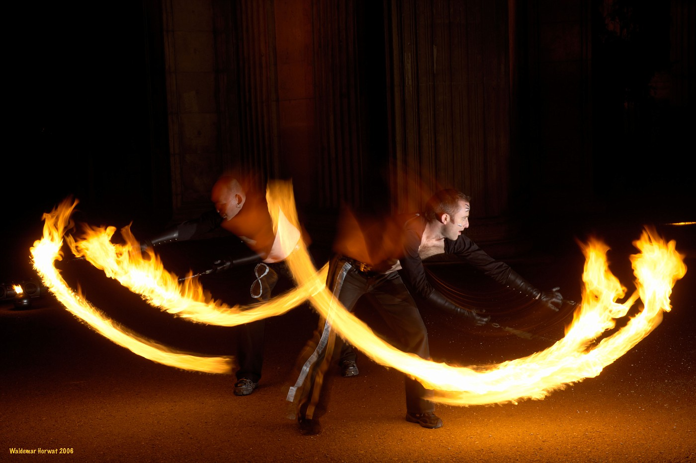 Jim and Khan's Poi Duet