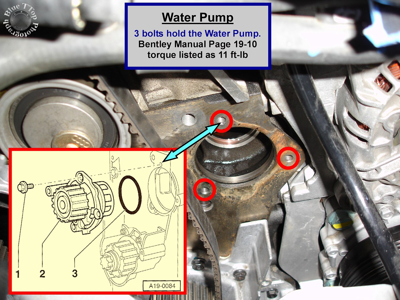 timing belt replacement writeup with 61 pictures and 44 steps rh audiworld com Audi A3 Service Manual 2014 Audi A3