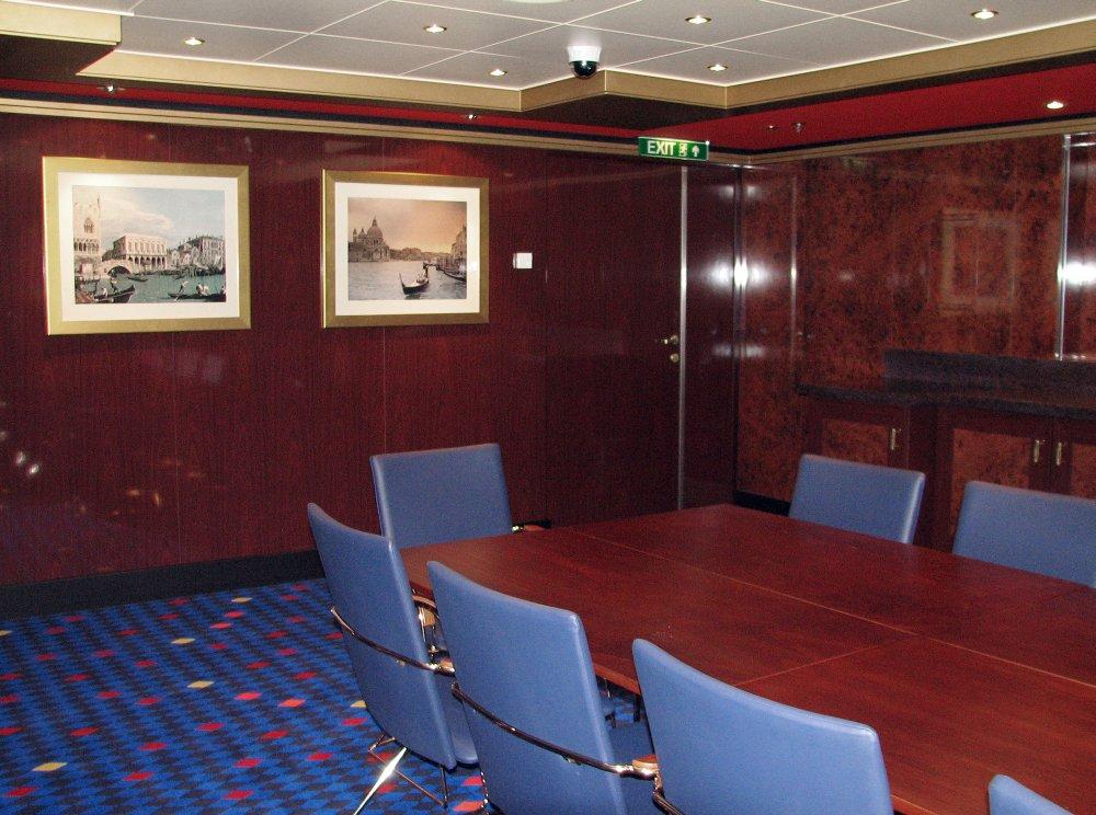 Scalzi Bridge Conference Room, Norwegian Gem