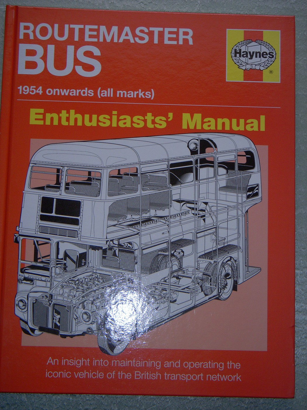 Revell Routemaster London Bus Haynes Manual