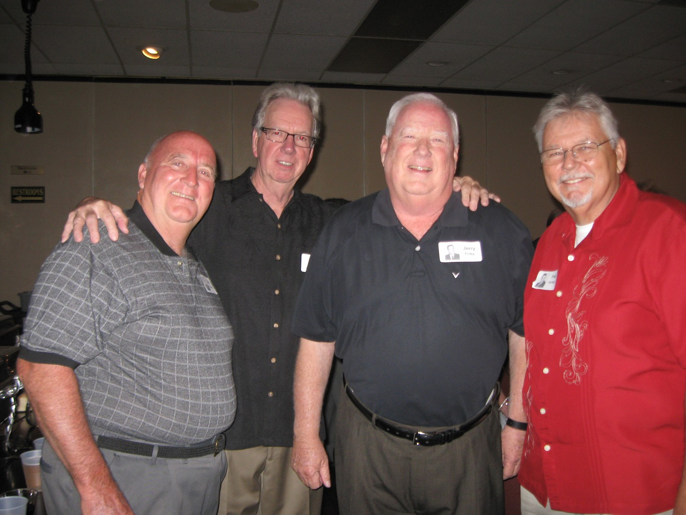 Skip Polete, Jerry Mills, Jerry Fritts, Fred Varney