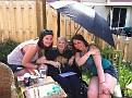 Erika, Gabby, and Nan