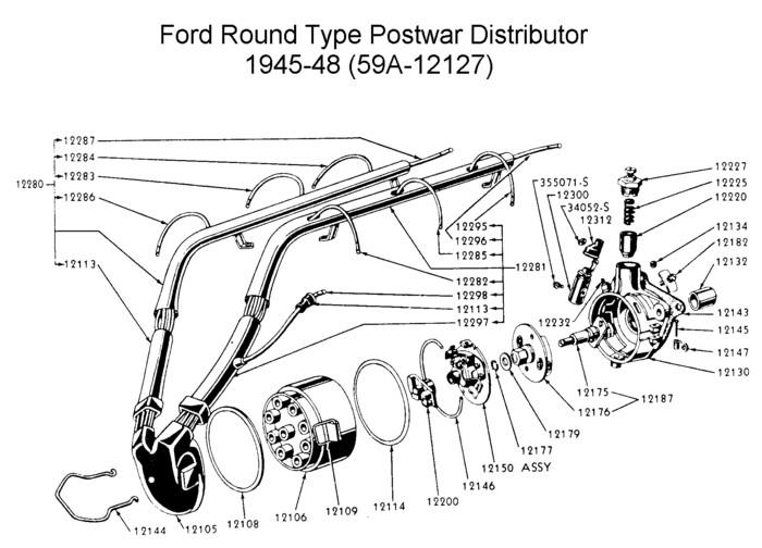 1948 ford flathead wiring