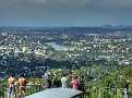 Mt Coot-tha lookout 011 View over Brisbane