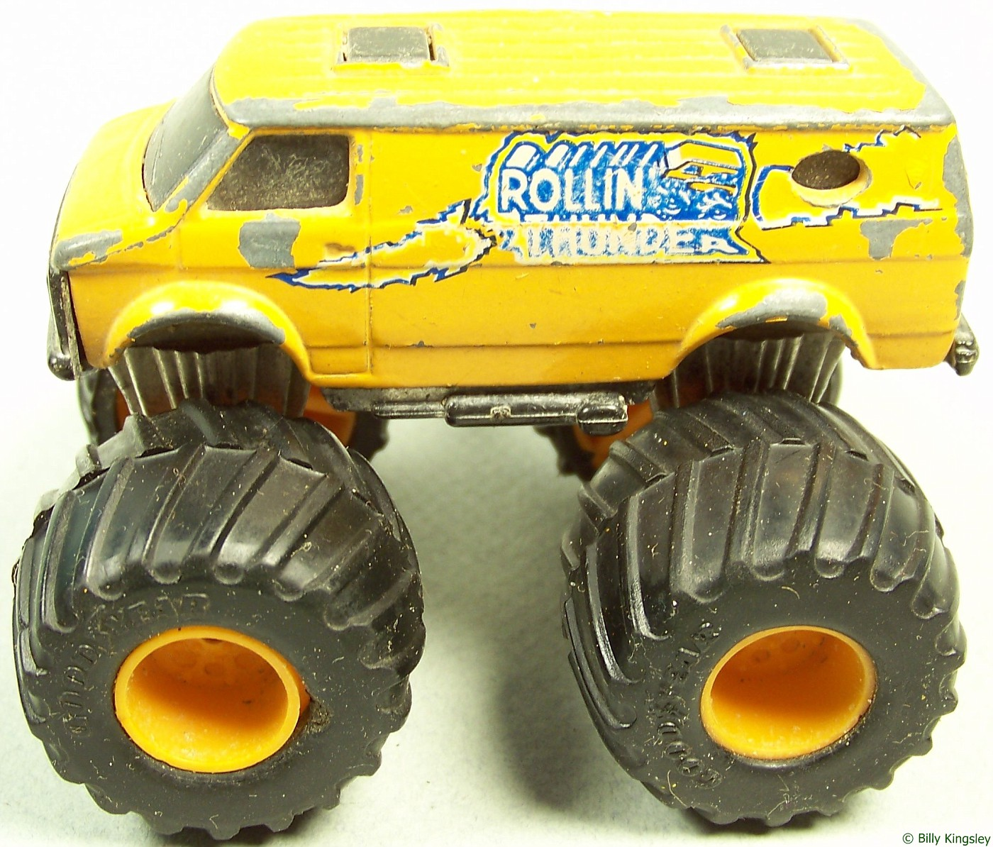 Didnu0027t Matter To Matchbox, It Went On The Ford! USA 1 Was One Of The First  Trucks That Started To Flip All The Time  Back Then, ...