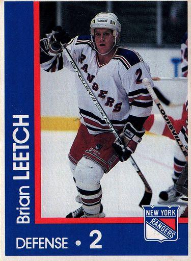 1989-90 Marine Midland New York Rangers #02 (1)
