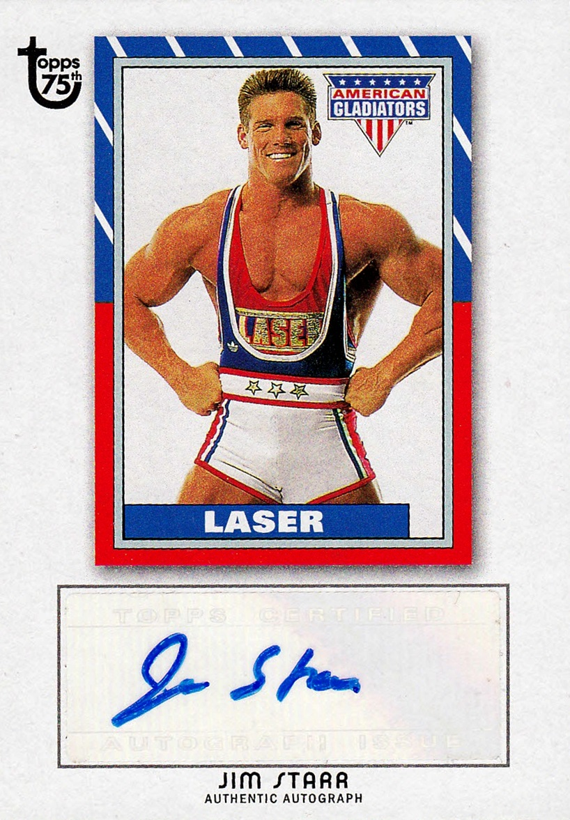 2013 Topps 75th Anniversary Autographs Jim Starr (Laser) (1)