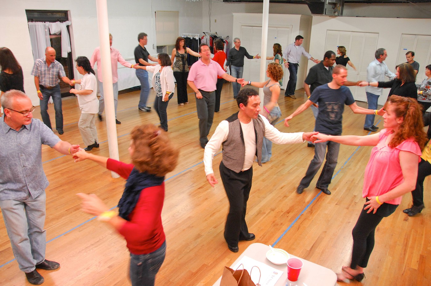 West Coast Swing workshops in Connecticut on Nov 6, 2011