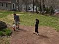 Easter  2006 - egghunt for Matthew
