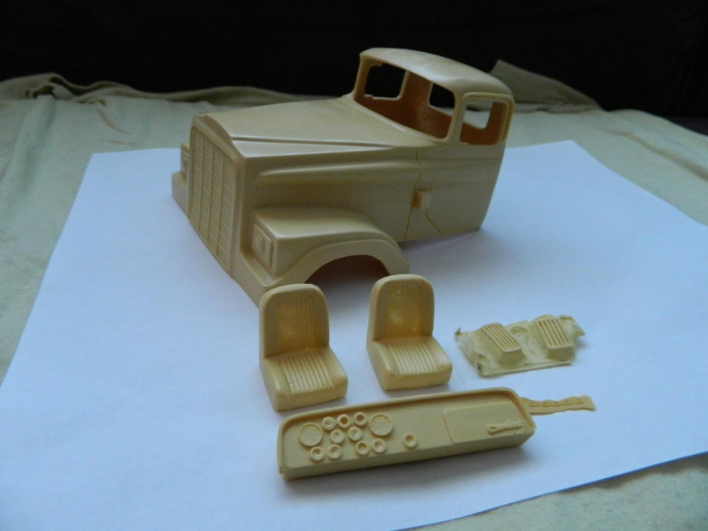 AMT 53 Studebaker parts