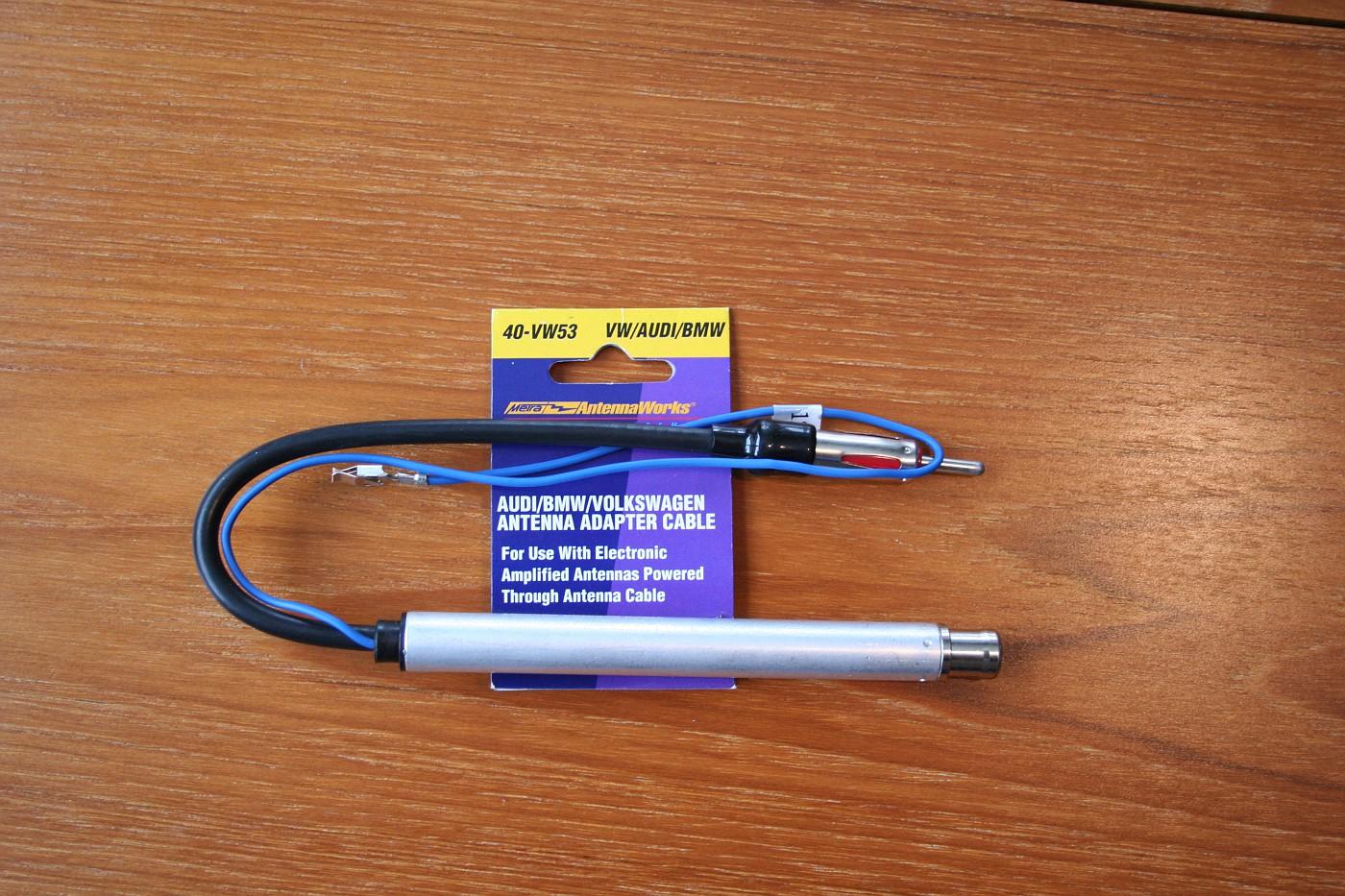 Power anntenna wire deck install - Audi Forum - Audi Forums