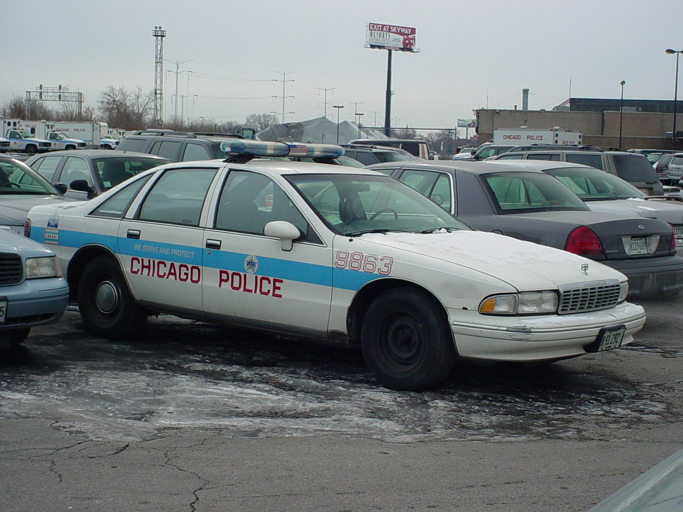 Photo: 1993 Chevy Caprice | Chicago Police vehicles 1991 ...