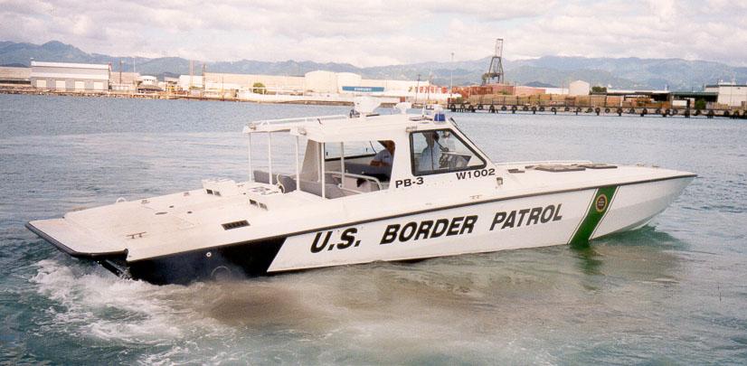 US - US Border Patrol boat