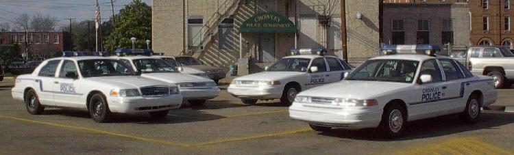 LA - Crowley Police