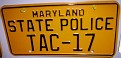 MD - Maryland State Police Memorabilia