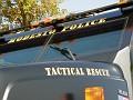 Modesto PD's Tactical Rescue truck