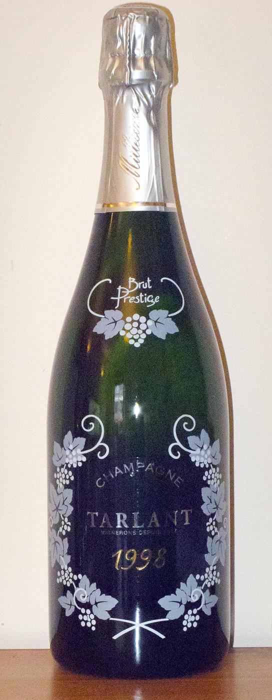 Tarlant Champagne Cuvée Brut Prestige 1998