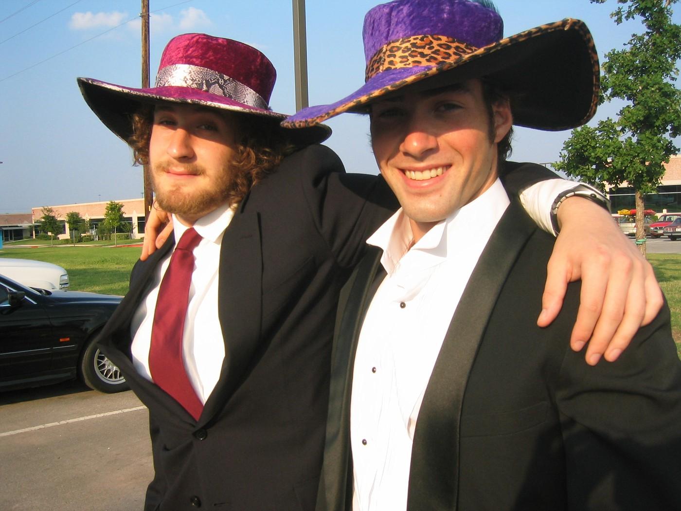 Jonah and Matt Pimpin