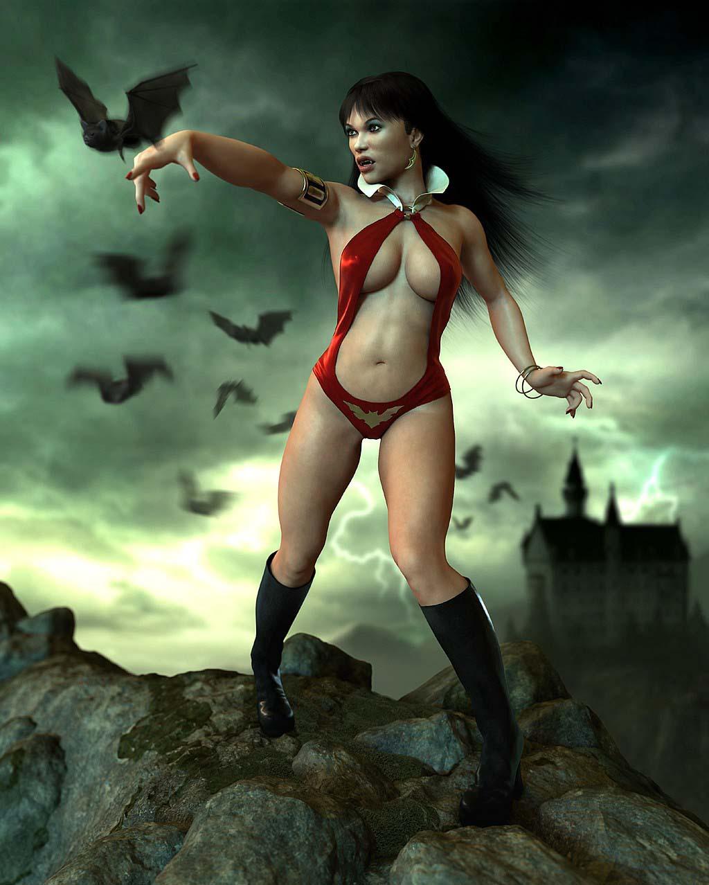 Vampirella nude pics exploited tubes