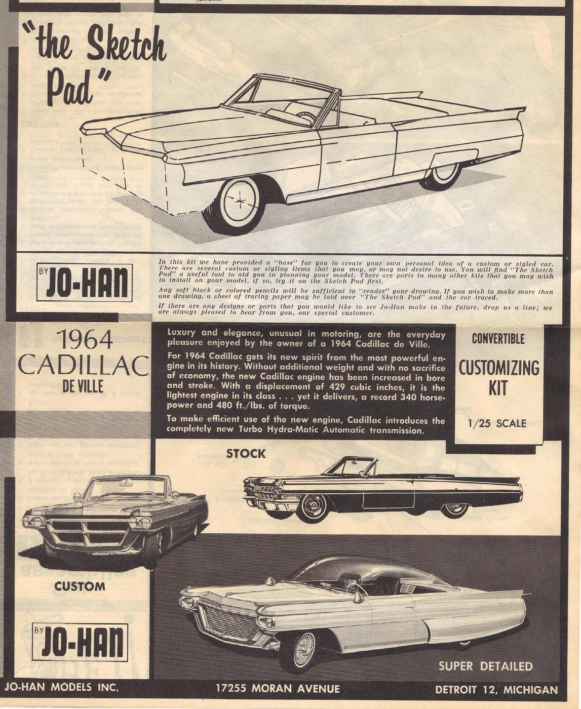 JOHAN 1964 Cadillac De Ville