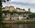 Chinon over the Vienne river