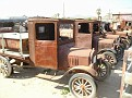 Row of Model T Trucks at Bard, California