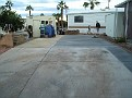 New concrete pad for the new home