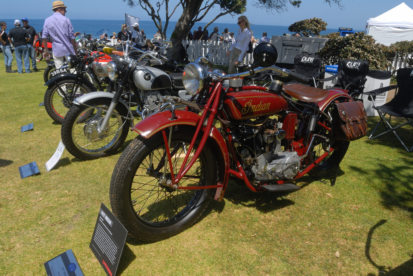 1927 Indian Big Chief formerly owned by Steve McQueen presented by the Petersen