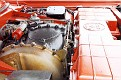 16 1963 Chrysler Ghia Turbine Car engine compartment side view