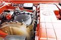 16 1963 Chrysler Ghia Turbine Car engine compartment side view