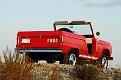 05 1966 Ford Bronco rear three-quarter high horizontal view