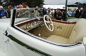 1933 Delage D8S De Villars Roadster interior view 2010 Pebble Beach Best of Show winner