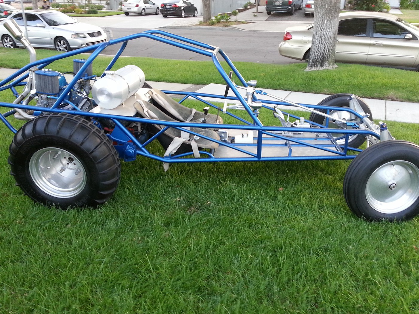 how to build a sand rail buggy